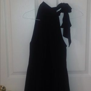 Express Polyester Black Dress